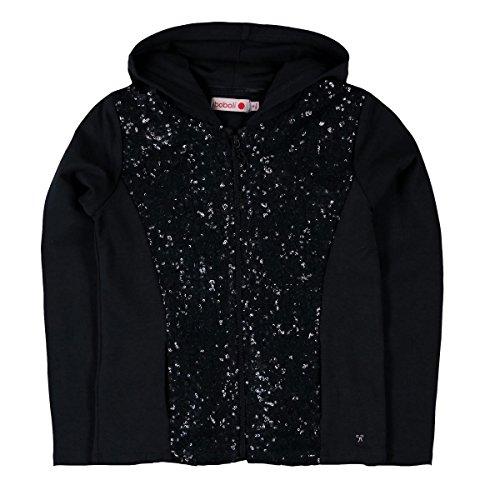 Boboli Bóboli Mädchen Fleece jacket stretch for girl Kapuzenpullover, Grau (Ash 8080), 98