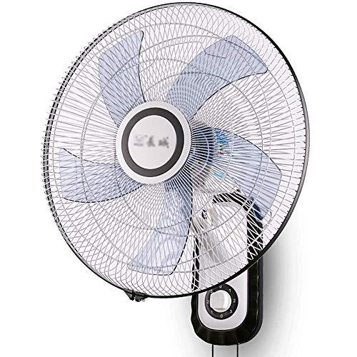 MAMINGBO Funcionamiento silencioso con Ventilador de Aire frío montado en la Pared de 18'con 3 configuraciones de Velocidad Ventilador de Pared for el Verano en el hogar/Oficina