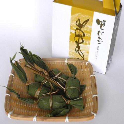 【父の日 プレゼント・カード付】手作り笹団子 20個入り 専用箱入り/笹だんごは新潟のお土産の定番