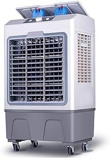 DXFK.AM Enfriador Evaporativo 3 En 1 Portátil Ventilador, Humidificador, con 3 Velocidades, 40L De Alta Capacidad Eléctrico Aire Acondicionado para Casa, Oficina, Fábrica