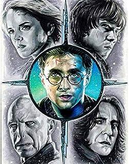 Diamant Peinture Enfant Diamond Painting Harry Potter Voldemort 5d Broderie Perle Diamant Kit Stitch full Strass Complet Grande Taille Diamonds D/écoration Murale 30x40cm Sans Cadre