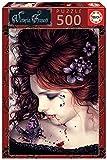Educa Exclusive Series Victoria Francés Mariposa. Puzzle de 500 Piezas. Ref. 19008, Multicolor