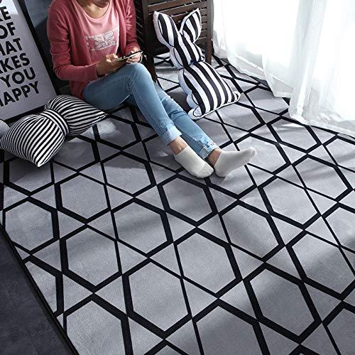 DDFGDFSA Nordic Moderne Teppich Polyester Teppich und Teppiche für Wohnzimmer Boden Kind Kinder Spielmatte Schlafzimmer Badezimmer Home Fußmatte,4,S