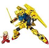 JIALI Nano Blocks Robot Series Modelo Mini Building Block Set 3D Puzzle Mircoy Bricks Toys Regalos para niños, E