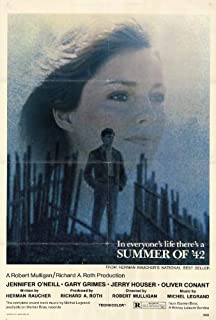Summer of '42 Movie Poster (27 x 40 Inches - 69cm x 102cm) (1971) -(Jennifer O'Neill)(Gary Grimes)(Jerry Houser)(Oliver Conant)