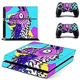 BLOUR Neue PS4-Aufkleber Play Station 4-Skin-Aufkleber-Aufkleber für Playstation 4 PS4-Konsolen- und Controller-Skins Vinyl