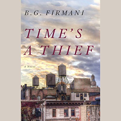 Time's a Thief audiobook cover art