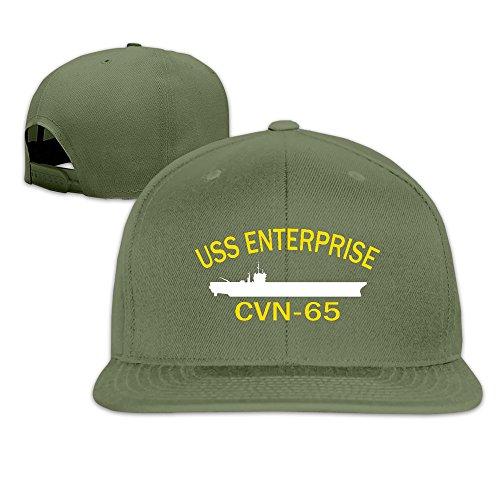 USS Enterprise CVN-65 Baseball Cap By Cnlowter