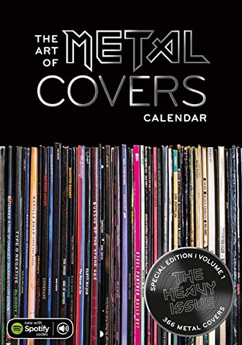 The Art of Metal Covers: 1st Metal Cover Calendar (The Art of Vinyl Covers)