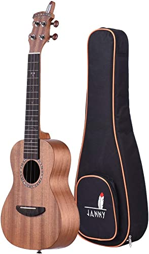 Exquisit 21 Zoll Mini Ukulele Sopran Ukulele Mahagoni Top Board Hals Ukulele Instrument Für Kinder, Studenten oder String Instrument Anf er