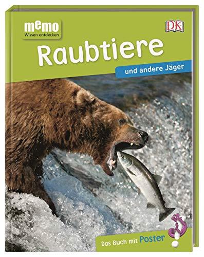 memo Wissen entdecken. Raubtiere und andere Jäger: Das Buch mit Poster!