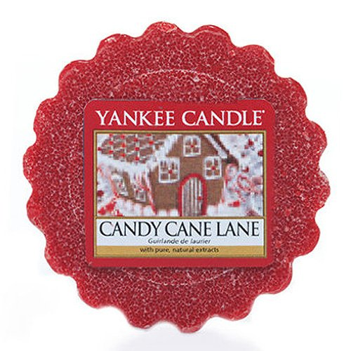 YANKEE CANDLE Wax Melt Candy Cane Lane Duftkerze 0,022 kg