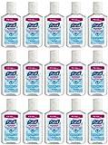 Purell Advanced Hand Sanitizer Refreshing Gel, 1 Fl Oz (15-Pack)