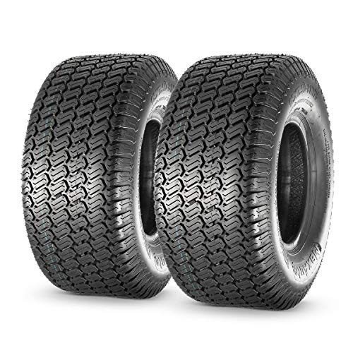 MaxAuto 18X7.50-8 18x7.5x8 Turf Saver Lawn Mower Tire 4PR, Set of 2
