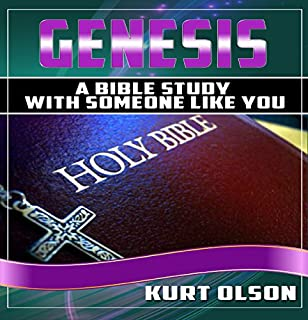 Genesis: A Bible Study With Someone Like You audiobook cover art
