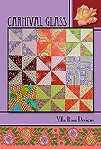 Villa Rosa Carnival Glass Quilt Postcard Quilting Pattern