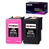 Zambrero Remanufacturado HP 301XL 301 XL Cartuchos de tinta para HP Deskjet 1000 1010 1050 1050A 1510 2050 2050A 2540 3050 3050A HP ENVY 4500 4504 5530 HP Officejet 2620 4630, Chip recién actualizado
