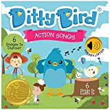 DITTY BIRD Baby Sound Book: Our Action Songs Musical Book for Babies is