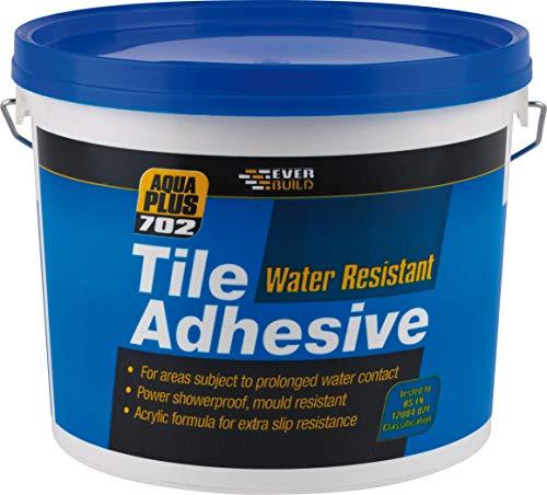 Everbuild - Agua resistir cemento cola 702 5 litros evbres05