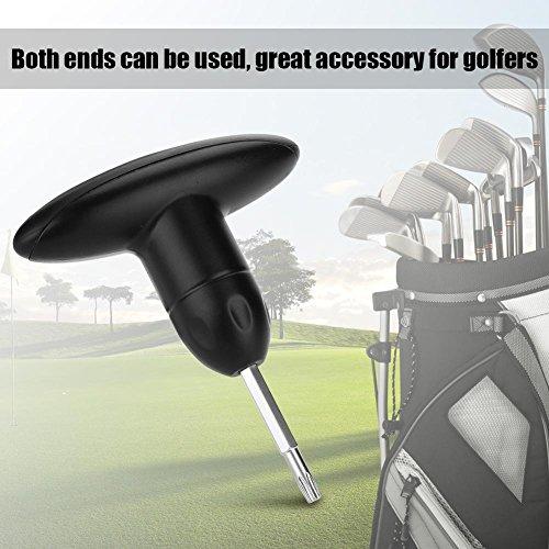 Annjom Golf Driver Wrench, Kunststoff + Edelstahl Tragbares Schraubenschlüsselwerkzeug mit einfachem Design, Leichter Körper für Golf im Freien