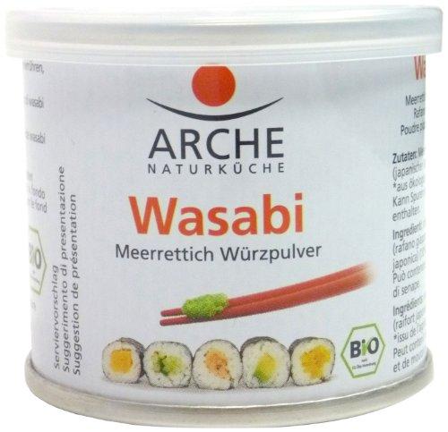 Arche Bio Wasabi Meerrettich Würzpulver zum Anrühren