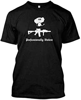 RE Factor Tactical Professionally Violent Printed T-Shirt