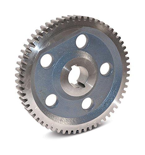 "Boston Gear GH48A Plain Change Gear, 14.5 Degree Pressure Angle, 8 Pitch, 1.375"" Bore, 48 Teeth, Cast Iron"