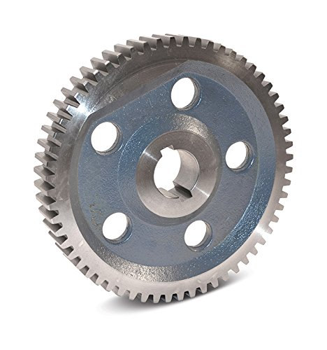 "Boston Gear GH49A Plain Change Gear, 14.5 Degree Pressure Angle, 8 Pitch, 1.375"" Bore, 49 Teeth, Cast Iron"