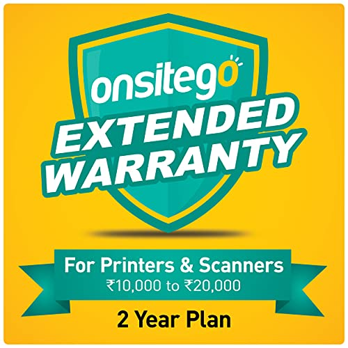 ONSITEGO 2 Year Extended Warranty for Printers and Scanners