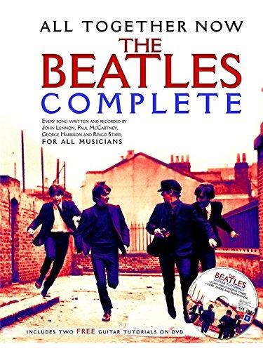 All Together Now: The Beatles Complete (Sheet Music/DVD). Partitions, DVD (Région 0) pour Ligne De Mélodie, Paroles et Accords(Boîtes d\'Accord)