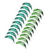 SM SunniMix 20pcs Lot Palm Tree Leaf Design Green Hawaiian Beach Party Aluminium Foil Balloon Ornaments 100x40 cm