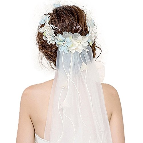 Veil Flower Headpiece,40