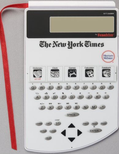 Franklin NYT-540 New York Times PageMark Dictionary