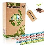 straw²sphere® Papierstrohhalme | 160 St. | 1 Baum für