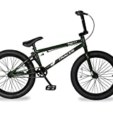 TRACER Edge 3.0 Freestyle BMX Bike for Young boy and Adult Beginner-Level to Advanced Riders Hi-Ten Steel Frame Bicycles Multiple Colors (20' - Pearl Green)