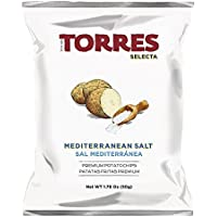 Torres - Patatas Fritas Selecta Sal Mediterránea - Pack de 15 (15 x 150 gramos)