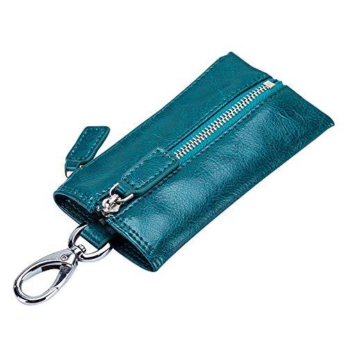 YAOSISI Portafoglio multifunzione Key Portafoglio Organizer Portamonete Portafoglio chiave da donna Porta carte da donna Custodia per portiere