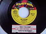 Love To The People 7 Inch (7' Vinyl 45) US Curtom 1975
