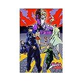 Anime JoJo's Bizarre Adventure Diamond Is irrompible Canvas Poster Decoración de dormitorio Deportes Paisaje Oficina Decoración Regalo 30 × 45 cm Unframe-style1
