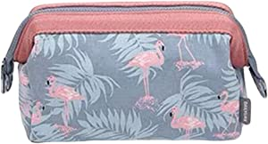 DGYAN Cosmetic Bag Lady Carrying Bag Flamingo Cosmetics Storage Bag Toiletries Supplies Storage Bag  10 Pieces
