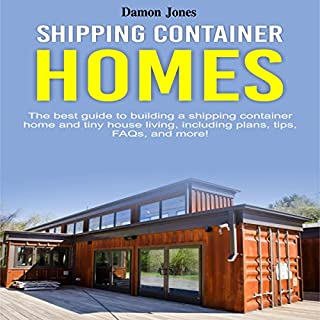 Shipping Container Homes audiobook cover art