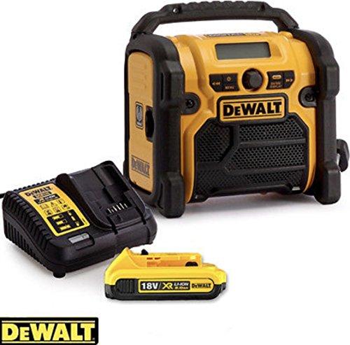 DEWALT DAB Radio DCR020+XRP 18V Battery+Fast Charger Complete KIT
