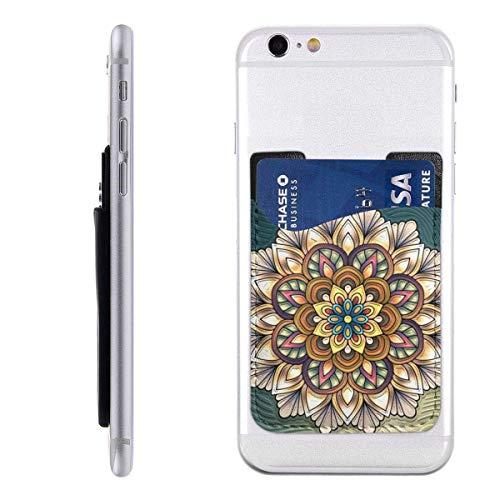 Gustave Tomlinson Mandela Handyhalter Rucksack Geldbörse, PU-Aufkleber ID-Kreditkarte Brieftasche Handyhülle Tasche Hülle Tasche