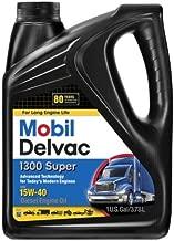 Mobil 1 112786 Delvac 1300 Super 15W-40 Diesel Engine Oil - 4 Gallon Pack