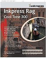 Inkpressメディア300gsm、23Mil、95%明るい、両面写真用紙( # prct300172220)