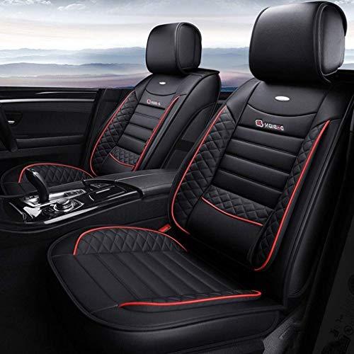 Asiento de coche cubierta del coche Protector de asientos de coches Accesorios cubiertas del asiento de cuero determinada, Cojines universal 5 Asientos de seguridad for los asientos delanteros y los a