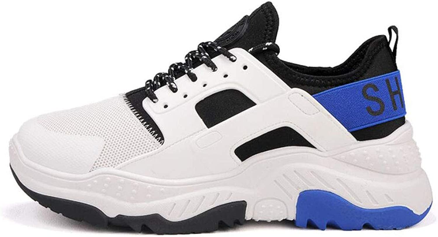 ZIXUAP Men's autumn platform sports shoes youth Harajuku style running shoes men's comfortable old shoes,C,39