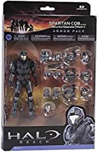 Halo Reach Series 5 6 Inch Scale Spartan CQB Custom & 3 Sets Of Armor - Steel Action Figure Armor Pack