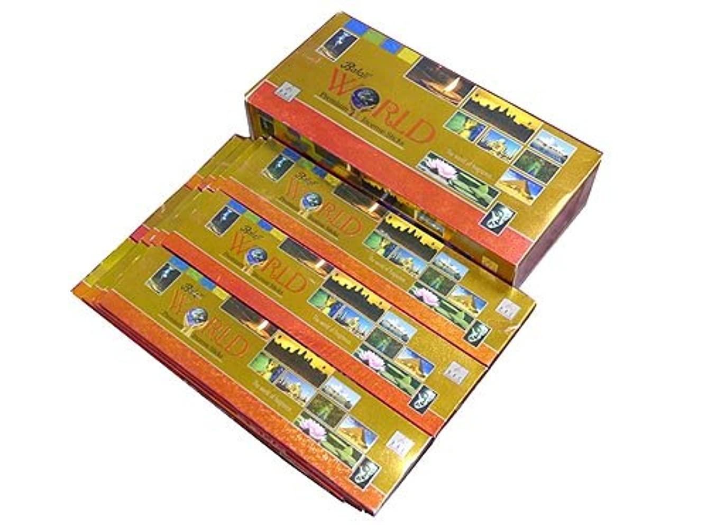 傑出したまもなく潜在的なBALAJI(バラルジ) ワールド香 スティック WORLD 12箱セット