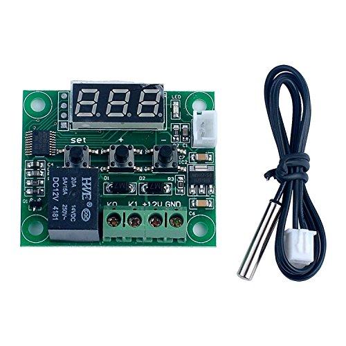 ARCELI -50-110 ° C W1209 DC 12 V Digital Mini Thermostat Temperaturregler Steuerschalter Sensor Modul